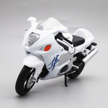 Maisto 1/12 Suzuki GSX1300R Motorcycle Motorbike Diecast Display Model Toy For Kids Boys Girls