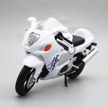 Maisto 1/12 Suzuki GSX1300R motocykl motocykl Diecast manekin sklepowy zabawka dla dzieci chłopcy dziewczęta