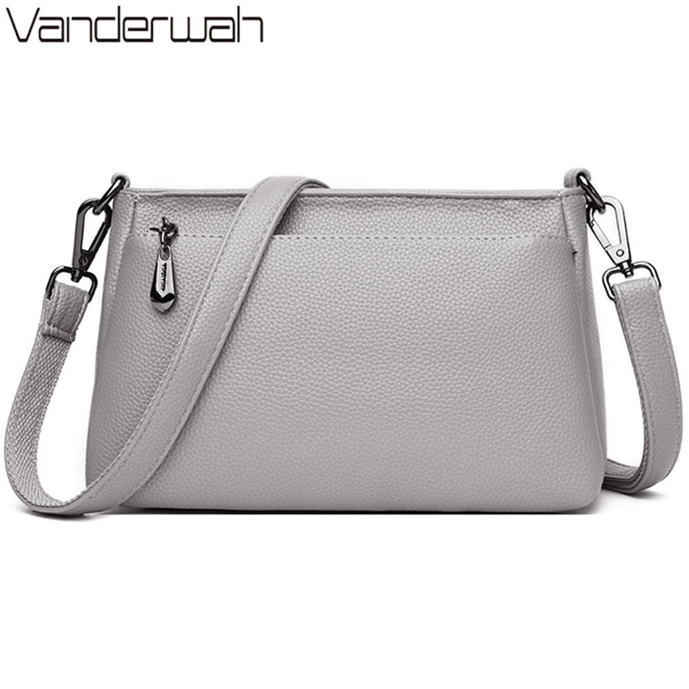 New Women Shoulder Messenger Crossbody Bag Female Brand Casual Small Totes High Quality Leather Ladies Hand Bag Sac A Main Femme
