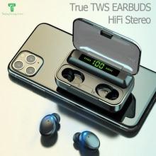Tws fone de ouvido bluetooth auriculares sem fio fone de ouvido jogos esporte fones fone de ouvido botões de ouvido pro plus ps4 sem fio