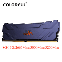 Colorful DDR4 RAM Dimm Memory Heat-Sink Desktop ddr4 8gb 2666 3000 3200 16GB 8GB