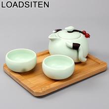 Dekoration Gongfu Chinese Kitchen Garden Teaset Mutfak Organizer Pot China Home Decoration Accessories Teapot Tea Set