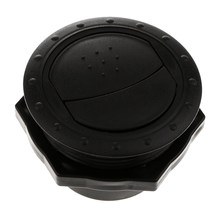 60 Mm Outlet Air Vent Cover Wall Mount Outlet Uitlaat Grille Abs Ronde Zwarte(China)