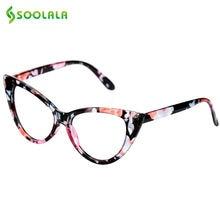 Женские очки для чтения soolala в полной оправе с кошачьим глазом