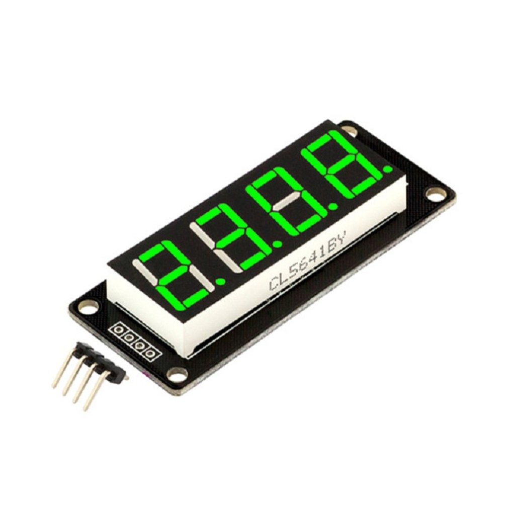 0.56''Inch TM1637 4Bit Digital LED 7Segment Clock Tube Display For Arduino