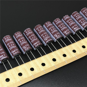 Image 1 - 10 шт. 3300 мкФ 6,3 V Nippon Chemi Con NCC KZG Series 10x25 мм Супер Низкие ESR 6.3V3300uF Алюминиевые Электролитические Конденсаторы