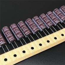 10 pces 3300 uf 6.3 v nippon chemi con ncc kzg série 10x25mm super baixo esr 6.3v3300uf alumínio capacitores eletrolíticos