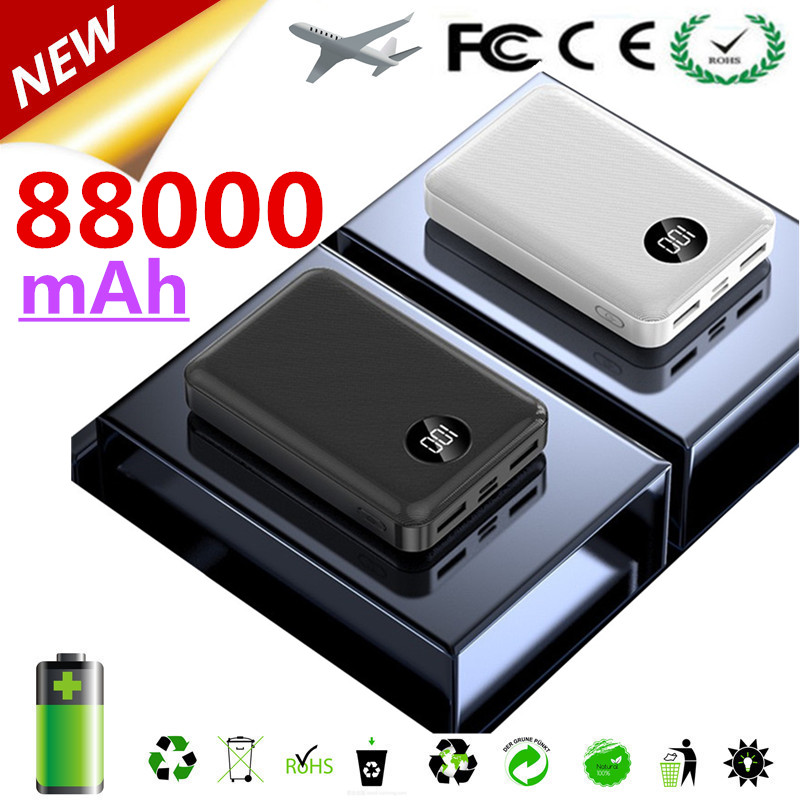 Мини портативное зарядное устройство 88000 мА портативное зарядное устройство для сотового телефона портативное зарядное устройство 88000 мА д...