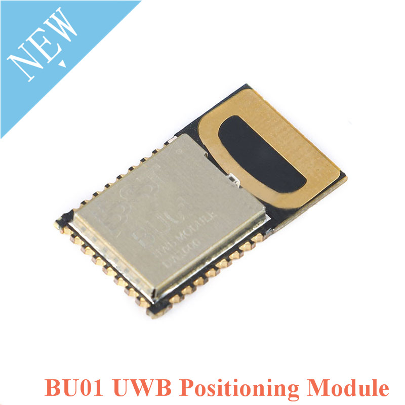 UWB Indoor Positioning Module BU01 Position DW1000 Ultra-wideband Short-range High-Precision Ranging 3.3V Onboard PCB Antenna
