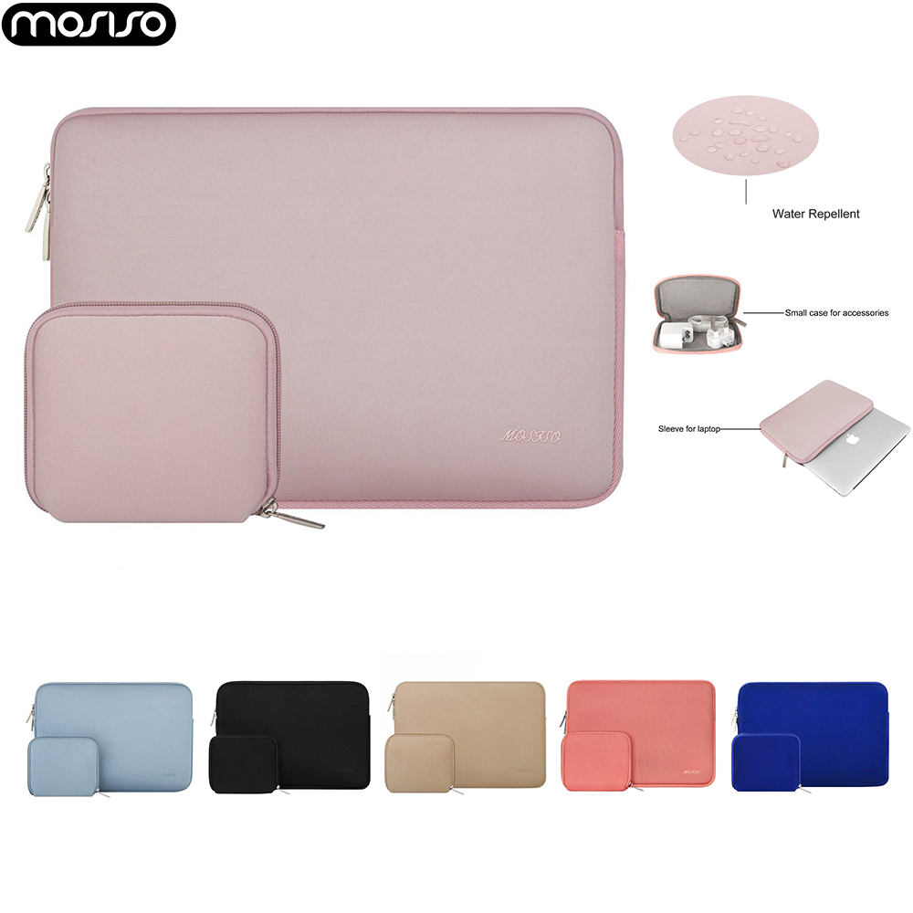 Mosiso For Macbook Air 11 13/Pro 13 15 Neoprene Water Repellent Sleeve Cases For Laptop Asus Acer HP Lenovo 13.3 14 15.6 16 Inch