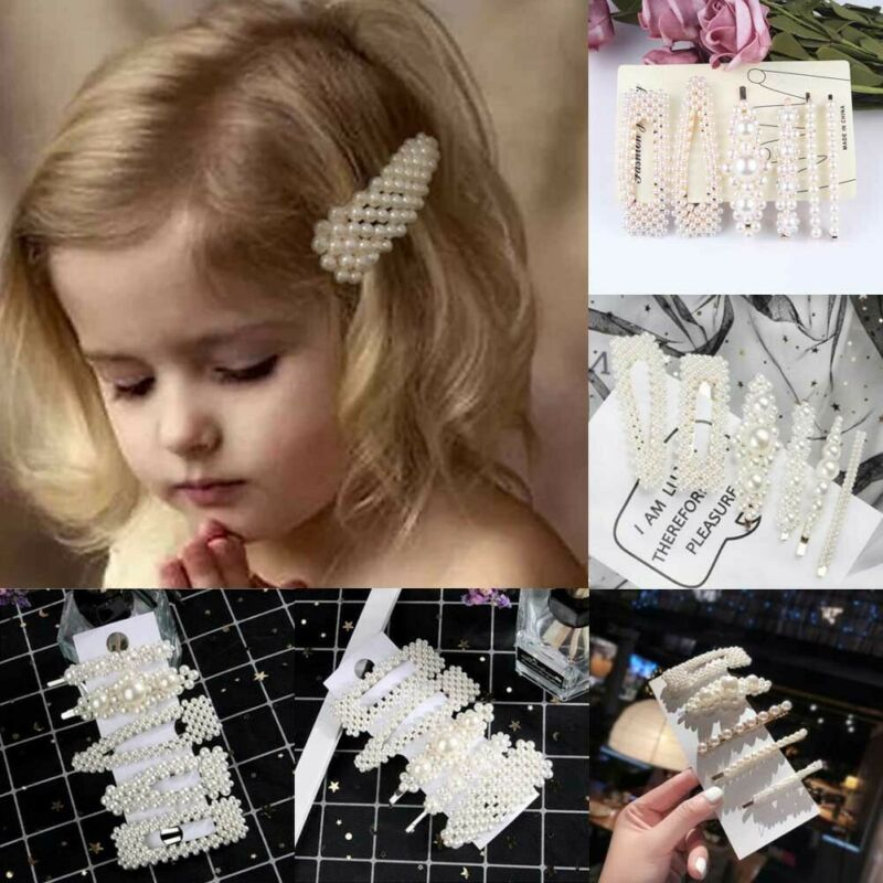 Kids Baby Girls Hair Clip Hairband Comb Bobby Pin Barrette Hairpin Headdress