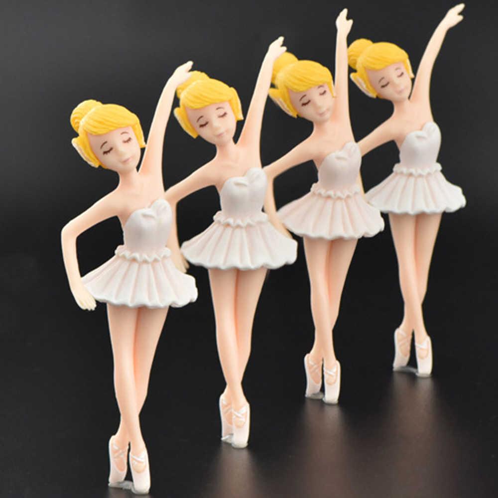 Chaveiro decorativo de jardim de fadas feminino, balé fofo para meninas jardim das fadas decoração de estatuetas para artesanato ornamentos diy acessórios de joias decoração de casa