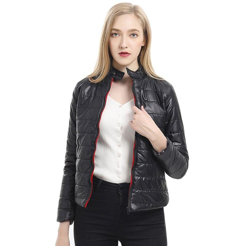 2019 Winter & Spring Women Jacket Short   Parkas   Outwear Female Winter Coat   Parkas   Padded Warm Jacket Outwear Women Winter   Parkas