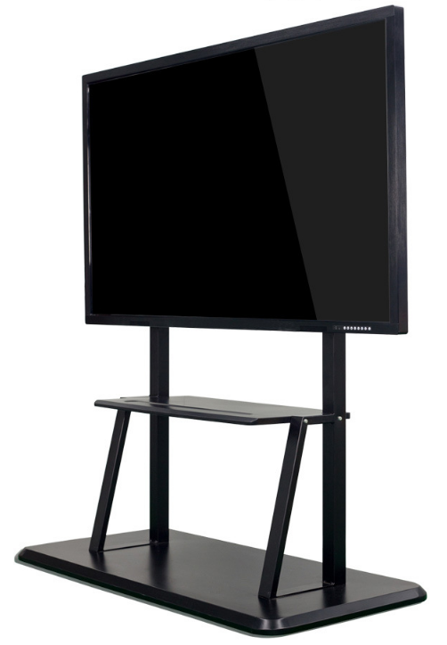 85'' Inch Signage Tablet All In One Touchscreen Lcd Display With Pc Buit In Digital Teaching Black White Board