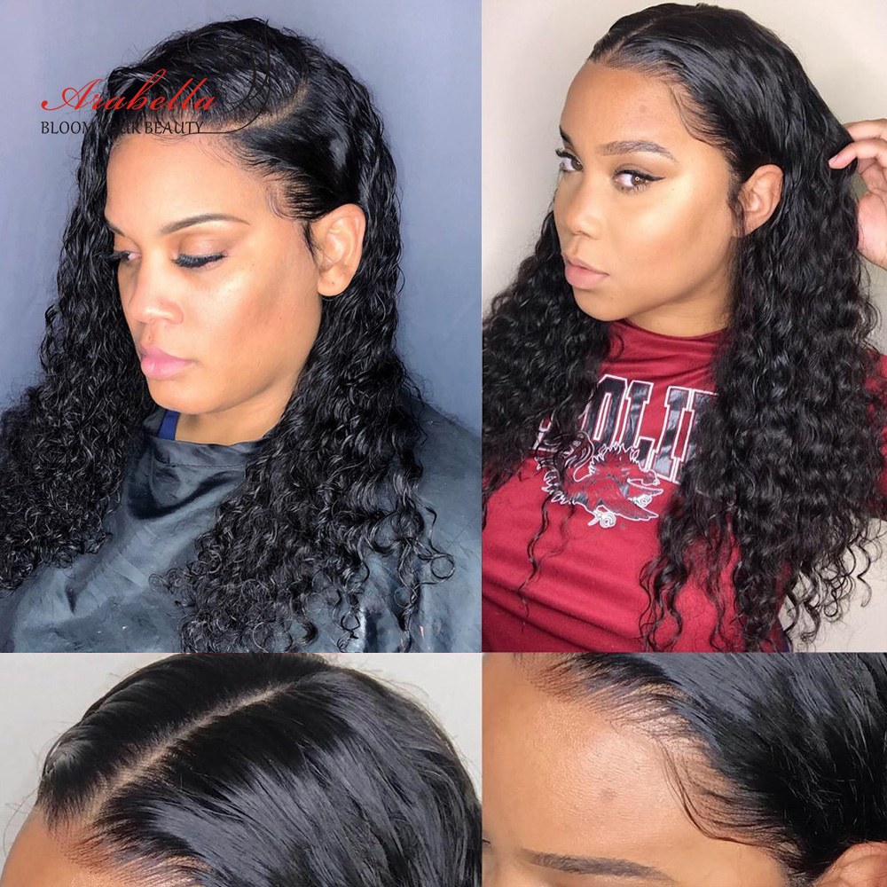 Water Wave Lace Front Wig 13X4 Arabella Wig PrePlucked   Wigs With Baby Hair Lace Closure Wig 4