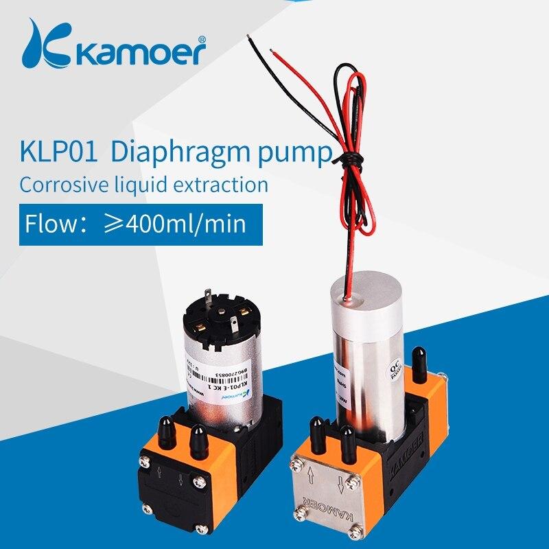 Kamoer KLP01 Mini Brush Diaphragm Liquid Pump12V/24V With Brush Dc Motor