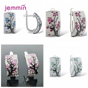 Hot New 4 Colors Plum Flower B