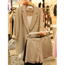 summer female Blazers suit casual suit jacket & shorts two-p