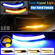 Heißer Verkauf Dynamische Blinker Für Ford Focus 2 MK2 Fokus 3 MK3 3,5 Für Mondeo MK4 EU LED Blinker licht Seite Lampe 1 Paar