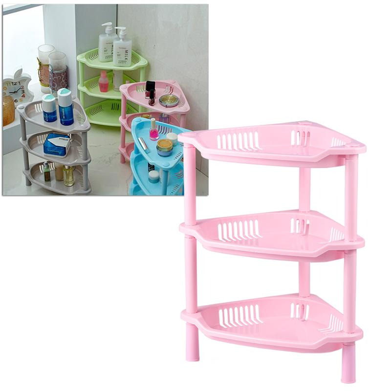3 Layer Plastic Small Storage Shelves