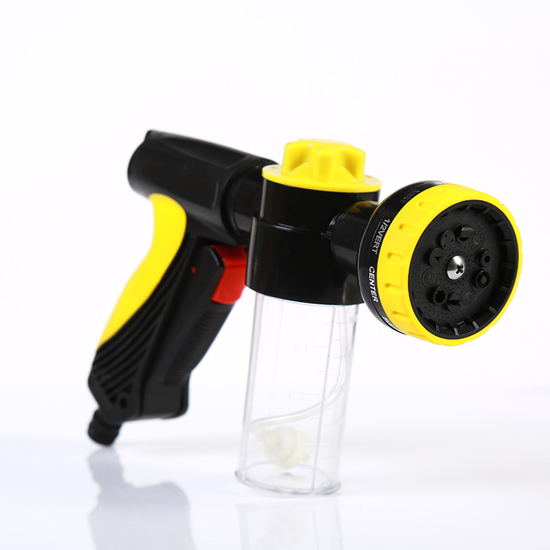 Manufacturers Direct Selling Foam Cleaning Dual Purpose Water Gun Household Vehicle Cleaning Spray Gun Multi-functional Garden W