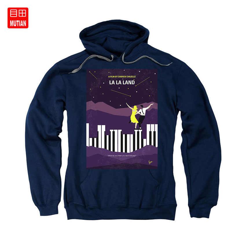 No756 Il Mio La La Land Minimo Movie Poster T-Shirt La Lala Land Damien Ryan Gosling Emma Stone Hollywood Jazz