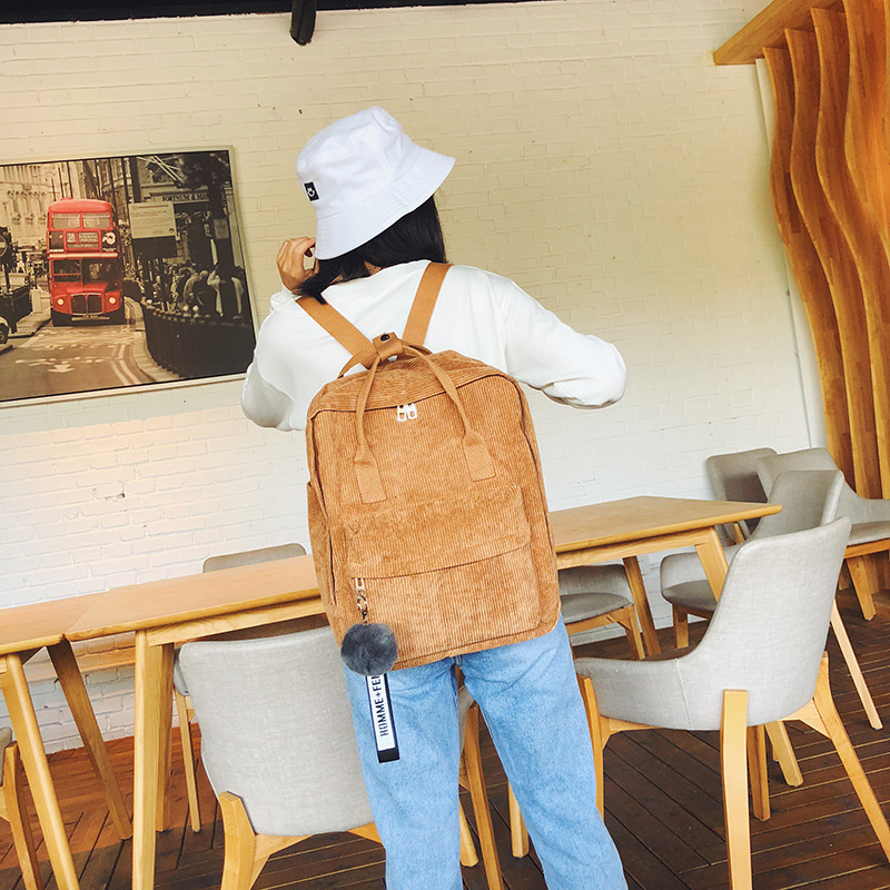 2019 Korean fashion classic student bookbag youth travel backpack laptop backpack Harajuku backpack suitable for girls Mochila image