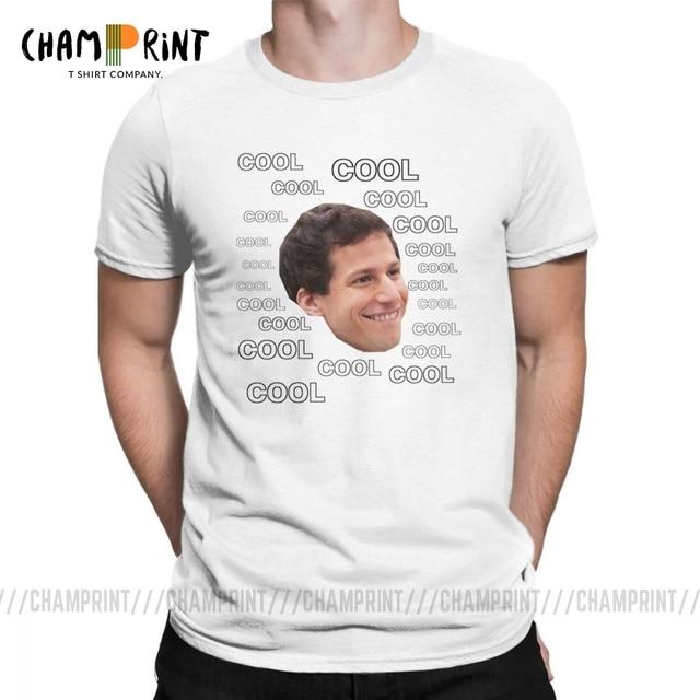 Cool Cool Brooklyn neuf neuf 99 T-Shirt drôle hommes Jake Peralta manches courtes vêtements t-shirts coton col rond T-Shirt 4X 5X 6X hauts