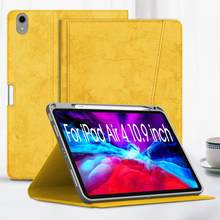 Cover for iPad Air 4 10.9 inch 2020 Case,Multi Viewing Angle Stand Cover for iPad Air 4th Generation Case with Pencil Holder.