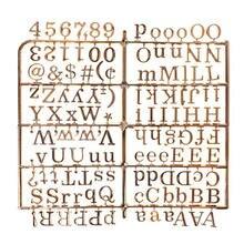 1 шт., войлочная доска для сообщений с золотыми/серебряными персонажами