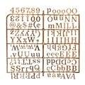 1 шт Золотые/Серебристые персонажи войлочные доски для писем доска для сообщений специальные персонажи слова для доски со сменными буквами