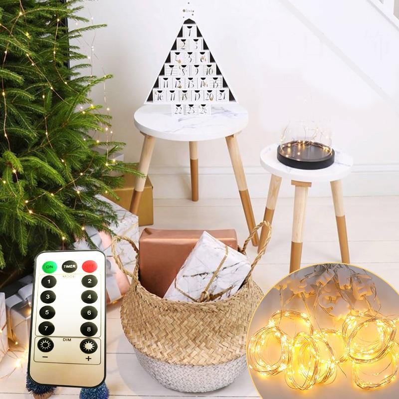 sala salão guirlanda decorações de natal luzes