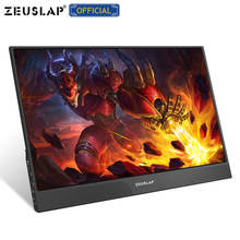 "15.6"" portable monitor lcd hd HDMI USB Type C display for PC laptop phone PS4 switch XBOX 1080p gaming monitor ips screen"