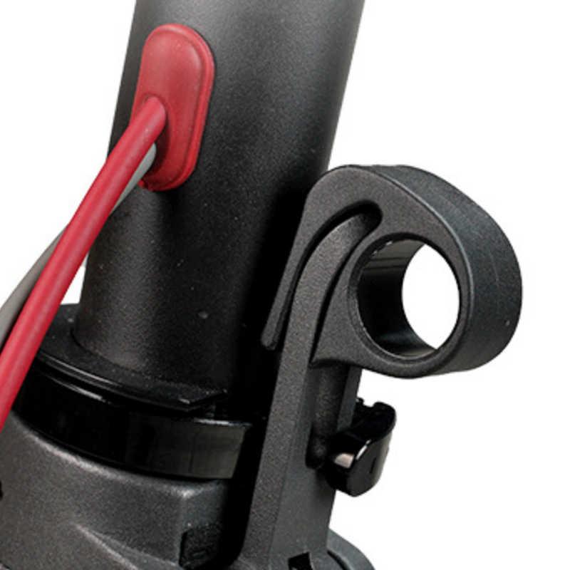 ユニバーサル xiaomi mijia M365 プロ電動スクーター折りたたみレンチスパナバックルボタン保護フック指リリースレバー