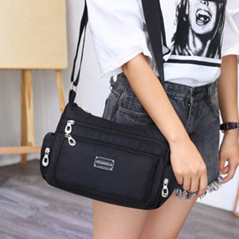 Fashion Women's Waterproof Crossbody Shoulder Bag Women Tote Messenger Bags Large Capacity Bag Multifunctional Unisex Handbag
