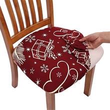 Silla con funda extraíble comedor cubierta habitación elástico funda para silla de Spandex elástico Funda para sillas Vintage Pastoral estampado coche asiento # LR1