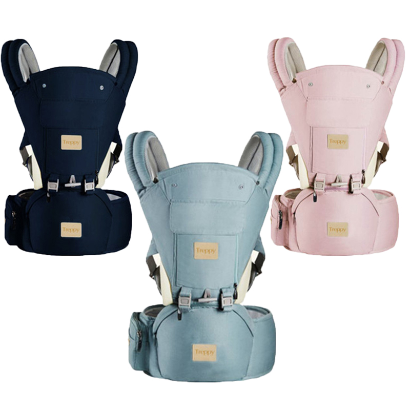 Baby Carrier Ergonomic Backpack Hipseat For Newborn Prevent O-type Legs Sling Wrap Travel Portable Multifunction Kangaroos Belts