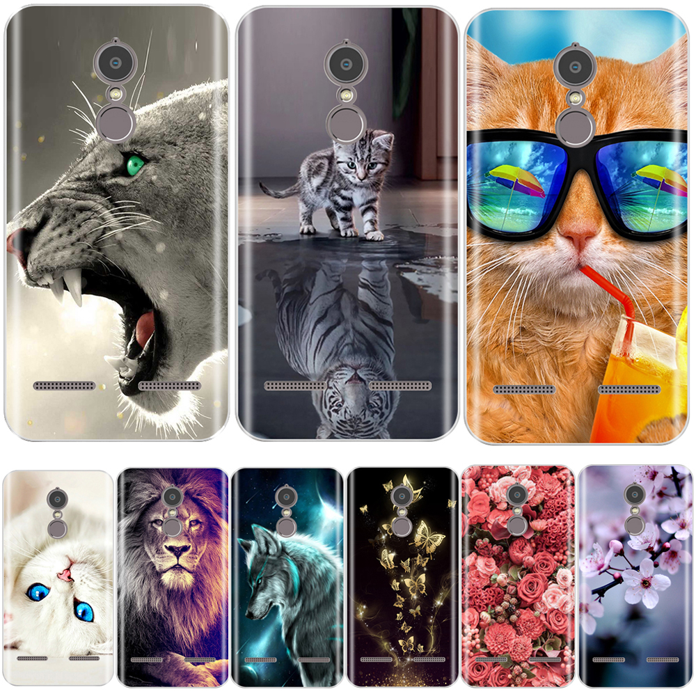 Case For Lenovo K6 Cover Soft Silicone 3D Cute Coque For Lenovo K6 Power Case Coque For Lenovo K6 Note Case 5.0'' Phone Case