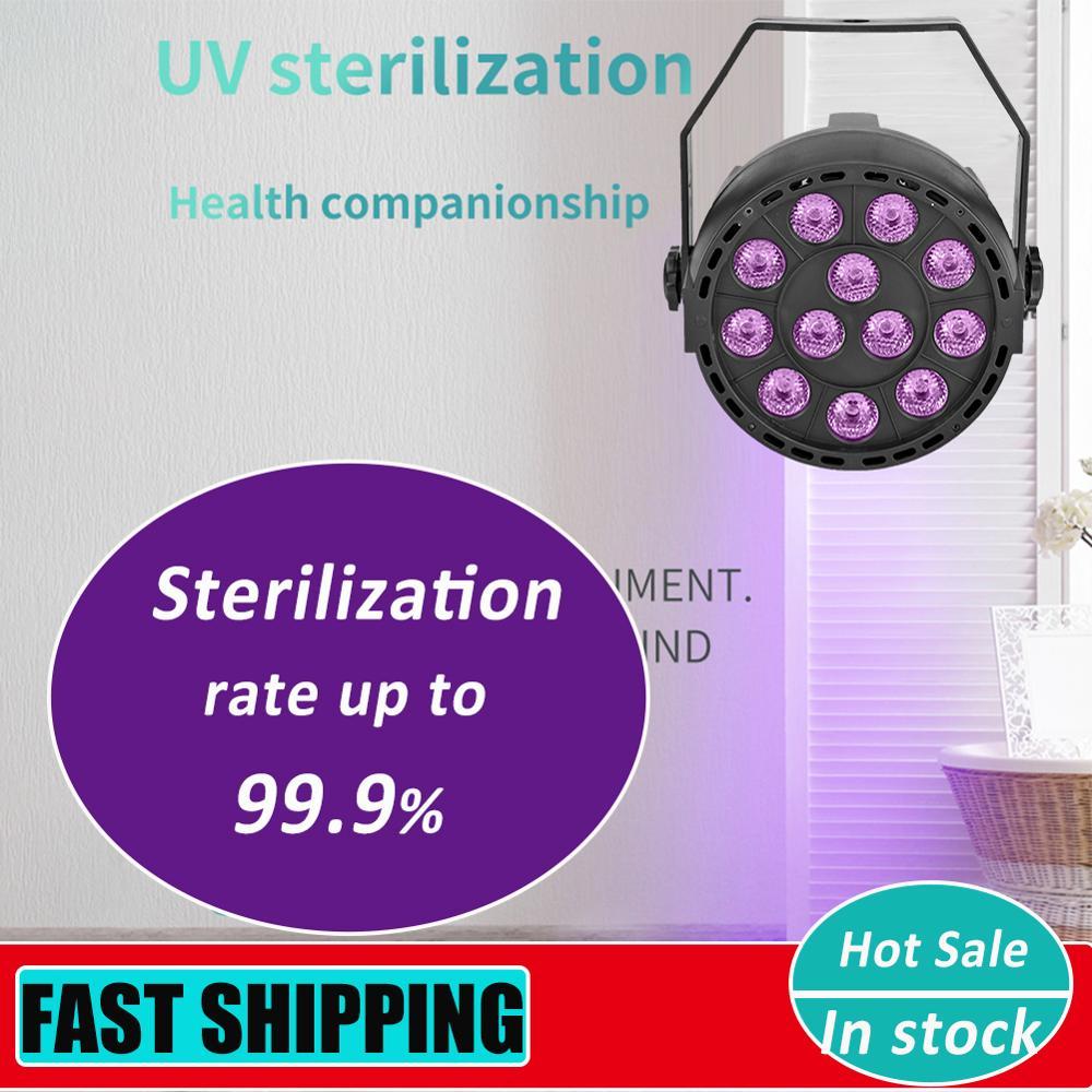 48/54/108W UV Sterilizing Lamp Ultraviolet Disinfection Light Disinfection Bactericidal Lamp Ozone Sterilizer Mites Light
