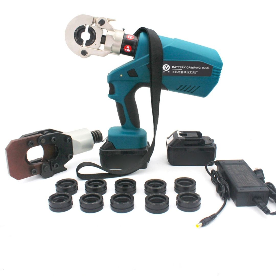 Rechargeable electric hydraulic pliers, electric cable cutter, EM120C cable cutter, hydraulic crimping tool