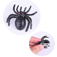 1 Pc Halloween Tricky Black Spider Hair Clips Girls Party Costume Dress-up Insect Spider Hairpins Hair Clips(China)