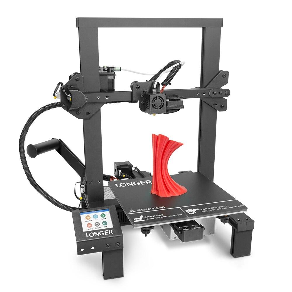 Impresora 3D LK4 FDM de larga duración para retomar la impresión inteligente 3D Drucker recuperación de fallos de energía Detector de filamentos PLA Impressora
