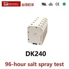 DINKLE DK150 One input-one output  Electrical Connector Din Rail Terminal Block Phoenix  UK150 YANNIU