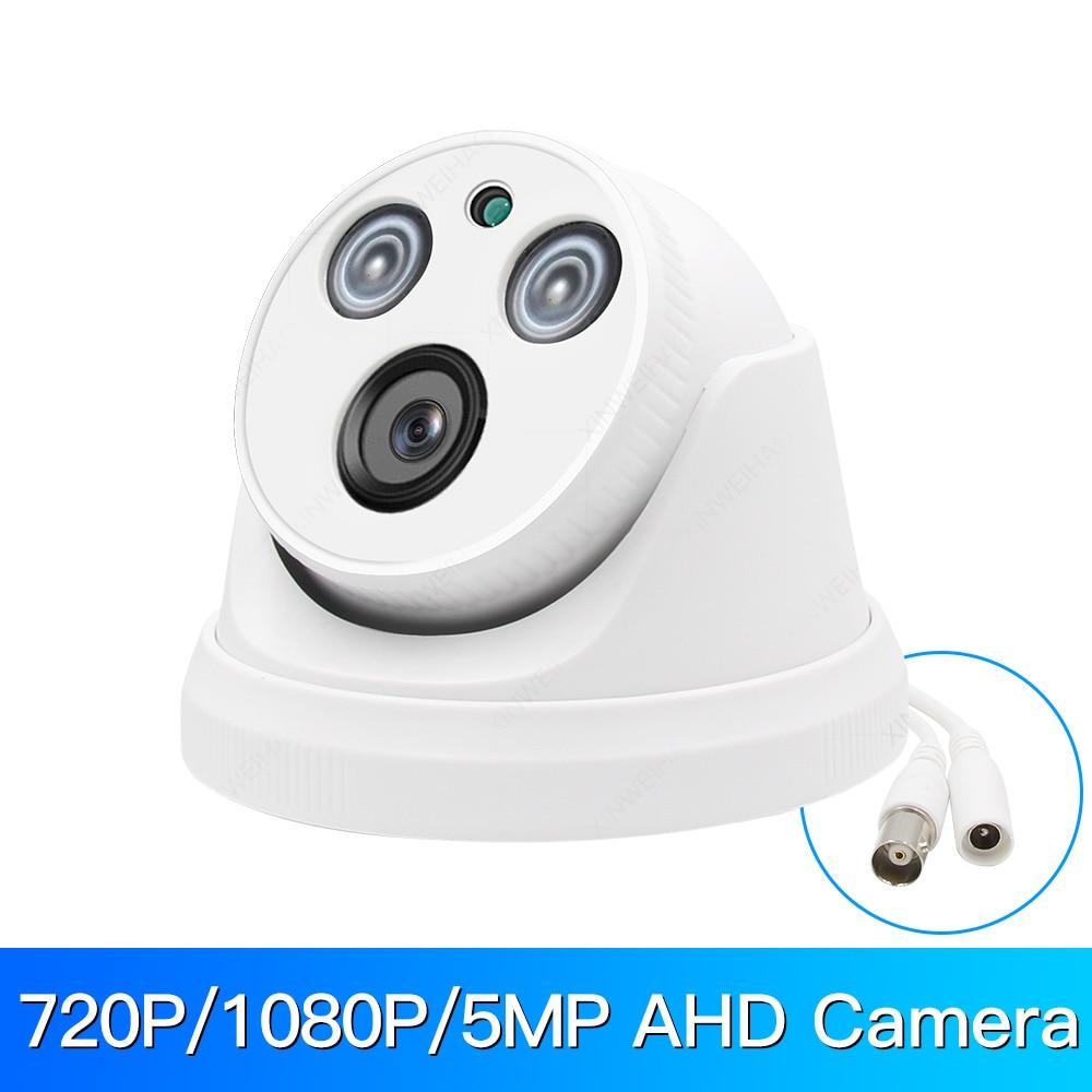 720P/1080P/5MP AHD Camera Analog High Definition Surveillance Infrared Camera AHD CCTV Camera Security Outdoor Dome Camera