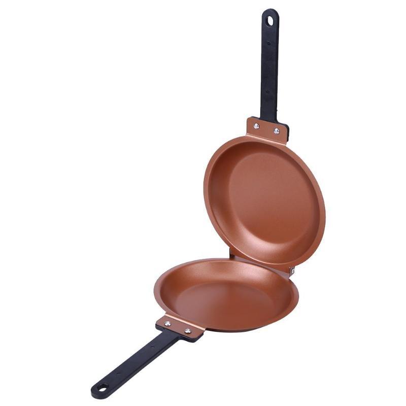 Non-stick Flip Pot Pancake Cake Maker Frying Pan For Gas Induction Cooker