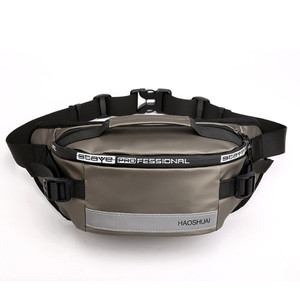 Image 4 - Waterproof waist bag Man Money Belt Bag Teenagers Travel Wallet Belt Male Waist Pack Cigarette Case for Phone