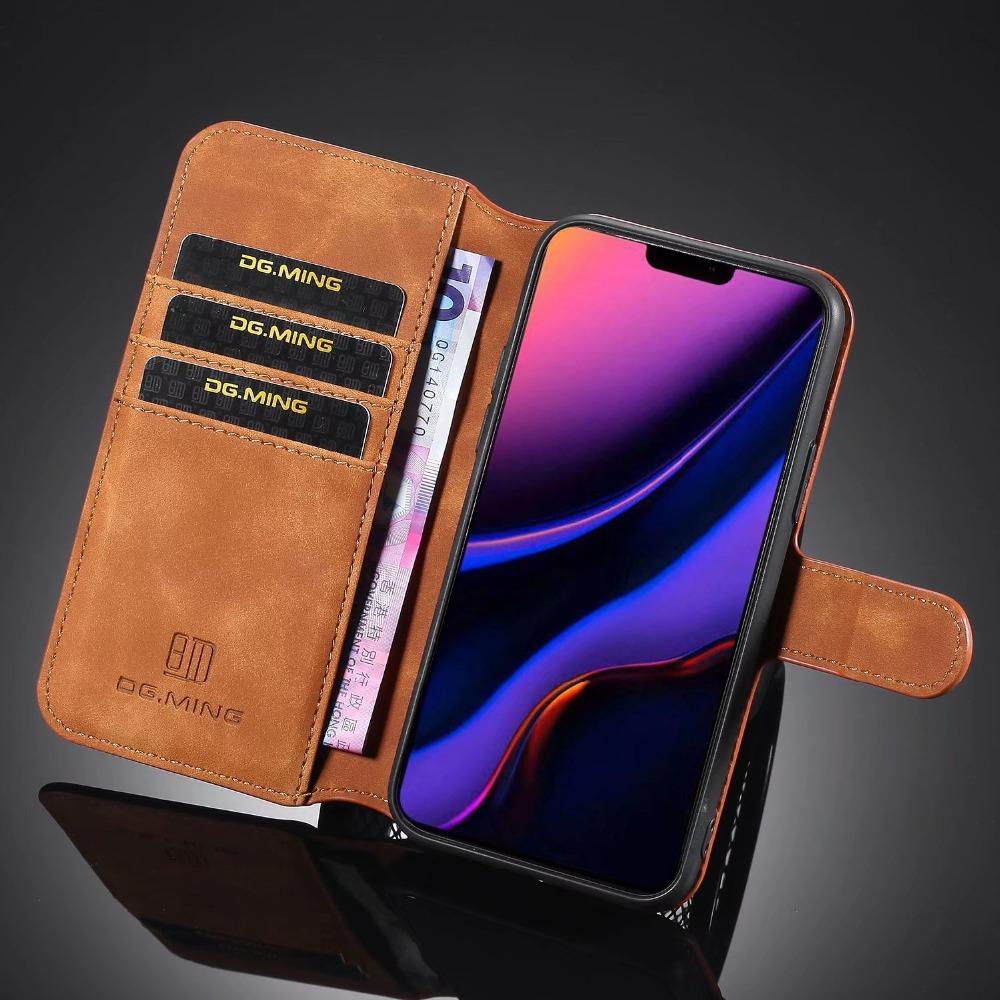Premium Leather Flip Wallet Case for iPhone 11/11 Pro/11 Pro Max 35
