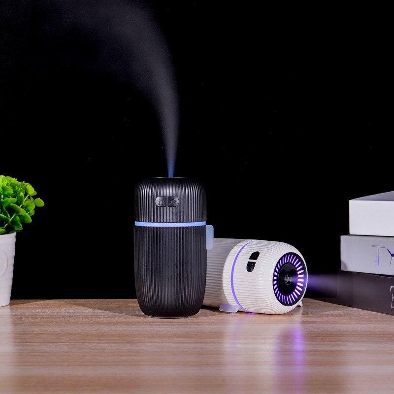 Humidificateur d'air sonore d'oiseau, diffuseur d'arôme ultrasonique, blanc, USB, brumisateur d'eau fraîche, pour LED veilleuse, bureau et maison