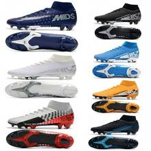 Free shipping 2020 mens soccer shoes FG soccer cleats outdoor football