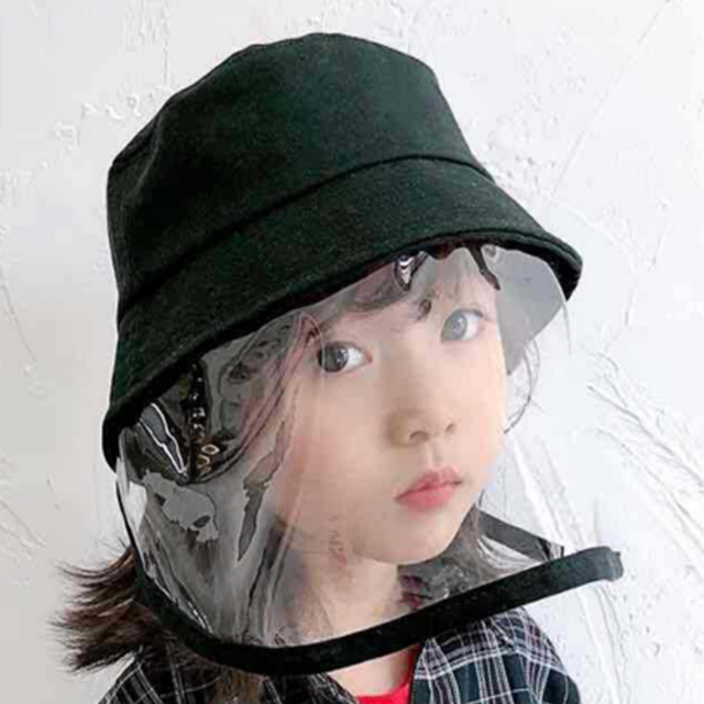 Kids Anti C19 Masks For Boys Girls with Hat dust-proof Anti Flu Baby Mask Outdoor Toddler Safety Protective mask D35 4